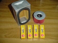 Kawasaki Z550 B LTD  Luftfilter + Ölfilter + Zündkerzen