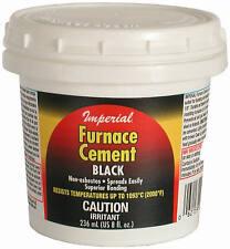 Imperial Mfg Group Usa KK0077-A 8-oz. Black Furnace Cement