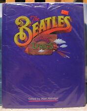 """""""Beatles"""" Illustrated Lyrics Alan Aldridge 1998 New Sealed w/ Original Price Tag"""