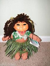 1987 ~ Doc Tatu ~ Hawaiian Beach Babies ~ Hula Doll ~ Hawaiian w/ Certificate