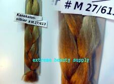 silky kanekalon braid hair dreadlock  27 /bleach Blond
