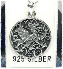 NEU 925 Silber KETTENANHÄNGER Drache ANHÄNGER für HALSKETTEN