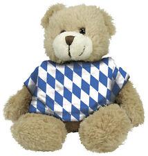 Teddy mit T-Shirt Stofftier Deko Baerenstarker Feuerwehrmann 27011 braun