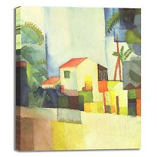 Macke casa luminosa design quadro stampa tela dipinto telaio arredo casa
