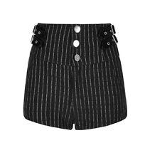 Punk Rave Rock Punk Casual Dailywear Striped High Waist Shorts