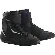 Alpinestars Fastback V2 Drystar Waterproof Motorcycle Shoes - Black / Black