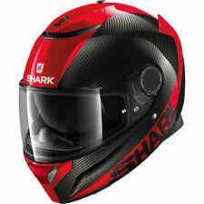 Shark Spartan Carbono Funda Rojo Moto Sports Touring Casco