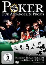 DVD Poker für Anfänger und Profis DVD incl Texas Hold ´em und Ohama