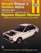 HAYNES REPAIR MANUAL NISSAN PULSAR N12 ASTRA LB LC