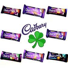 ☘☘CADBURY IRISH DAIRY MILK CHOCOLATE Various Flavours Quantaties From Ireland☘☘