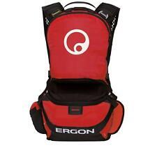 Ergon BE1 Enduro Protektorenrucksack Schwarz Rot ergonomisch Fahrrad MTB Gravity