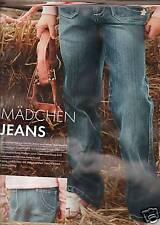 Jeanshose Hose Jeans Mädchen Gr 122 128 134 140 146 152 Blau Denim Jeans NEU