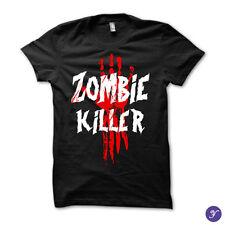 Zombie Killer tshirt - Zombies, Undead, Apocalypse, Kill Zombies, Survive, Scary