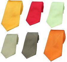 Soprano Luxury Plain Silk Ties