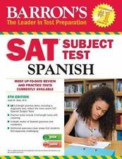 Barron's Sat Subject Test Spanish, 4th Edition: With Mp3 Cd: By Jos? D?az M.A.