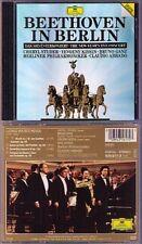 ABBADO KISSIN STUDER BEETHOVEN IN BERLIN Choral Fantasy Egmont CD Evgeny Cheryl