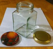 20 Rechteck - Gläser  260ml Einmachgläser, Marmeladengläser incl. Deckel