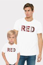 RED Remember Everyone Deployed Adults Man & Women & Kid & Boy & Girl T-Shirt