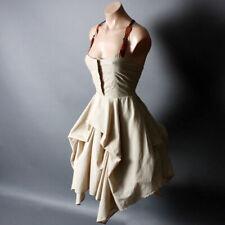 Steampunk Victorian Desert Suspender Goth Belt Bustle Dress S M L XL 2XL 3XL