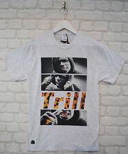 Actual Fact A$AP ASAP Rocky Trill Grey Speckle Hip Hop Crew Tee T-shirt