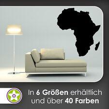 waf1401 KIWISTAR Paysage Afrique Silhouette Grandes lignes Continent