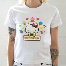 BAIT x Sanrio Hello Kitty x Pac-Man Women Power Up Tee white