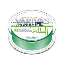 VARIVAS High Grade PE X4 4 Braid PE Line 150m  Flash green color