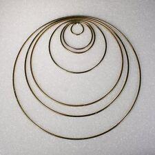 Dreamcatcher Rings Metal Macrame Rings (Free Shipping) Choose Size