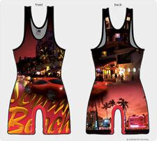 Florida wrestling singlets - Red version