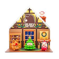 Cici'sStory Lulu Pig Christmas Art Designer Toy Display Pop Figure Gift Decorate