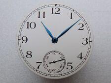 Cadran Aiguilles MARINE SILVER 6498 ETA Unitas watch dial Zifferblatt 36.3mm