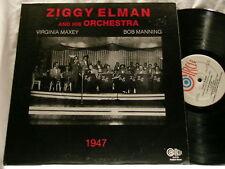 ZIGGY ELMAN 1947 Bob Manning Virginia Maxey Circle LP