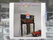 "Miller Engineering Electroluminescent ""Neon"" Sign - Route 66 Billboard kit 5061"