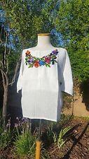 Bohemian embroidered small tunic blouses guatemala maya oaxacan many colors