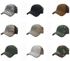 Low Crown MESH FLEX Tactical Operator Contractor Military Fit Baseball Hat Cap