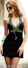 SEDUCTIVE SKIRTY, SwimDress/ Ladies Beachwear, Removable cups, Halterneck Style