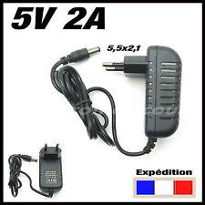 alimentation 5v 2A avec connecteur 5,5 x 2,1 mm