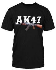 AK47 T-Shirt Fun shirt Kalaschnikow 187 neu Crime Waffe Gamer Gun neu