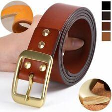Men Genuine Leather High Quality Top layer of Cowhide Luxury Waist Belt Designer