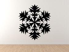 Snowflake Pattern #6 - Winter Art Christmas Decoration - Vinyl Wall Decal Decor