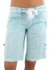 O'Neill Shorts Lake Nyasa White Turquoise Belt Embroidery