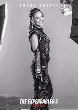 Los Indestructibles 3 la película Poster-Ronda Rousey-opción 3-A4 y A3