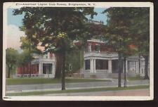 Postcard Binghamton NY American Legion Home