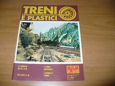 RIVISTA DI FERROVIE E MODELLI FERROVIARI TRENI E PLASTICI N.008 1979 EDIZ. EMME