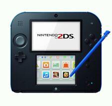 Nintendo 2DS - Konsole #schwarz-blau NEUWERTIG