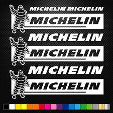 MICHELIN 7 Stickers Autocollants Adhésifs Auto Moto Voiture Sponsor Marques