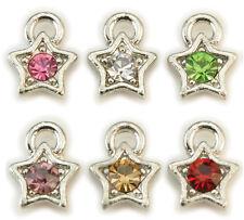Nagel Piercing Dangle Stern in verschiedenen Farben Nailart Desgin #00531-10
