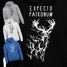 Expecto Harry Potter Deathly Hallows Hood Kids Unisex Fancy Present Hoody Dress