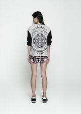 The Fifth Label Move Your Feet Grey Black Jumper Neoprene Sweatshirt