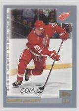 2000-01 Topps #214 Darren McCarty Detroit Red Wings Hockey Card